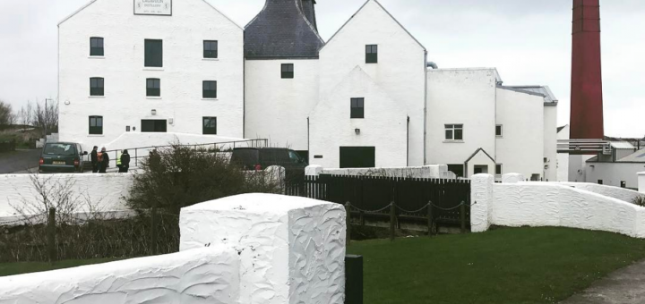 The islay whisky distillery Lagavulin