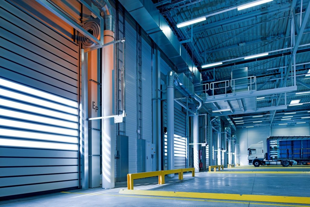 A manual forklift stacker could improve safety and efficiency for a health product warehousing business.